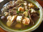 三菌豆腐湯