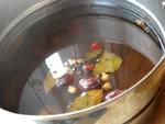塩水鴨のスープ