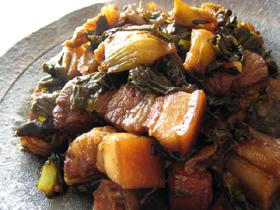 泡青菜焼肉