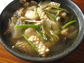 泡菜海味湯
