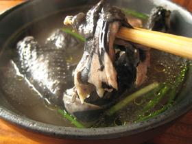 烏骨鶏十全大補湯・薬膳スープ