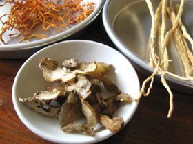 北虫草鶏湯