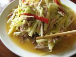 韮菜炒肉絲