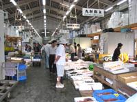 八幡浜の魚市場