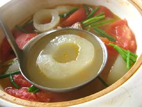 老黄瓜蕃茄排骨湯