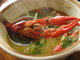 洋葱龍蝦湯