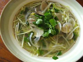 泡汁蛤蜊湯