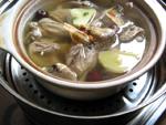 うずらの蒸しスープ