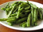 蒜泥炒刀豆