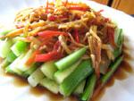 泡菜拌芥藍菜からし菜