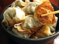 泡子孫菜ワンタン