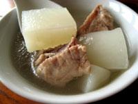 排骨蘿蔔湯
