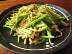 菜苔燉煮湯