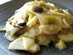 泡小孫菜炒土豆片