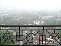 霧雨の上海