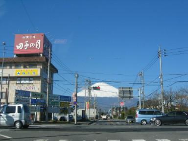 富士山と田子の月