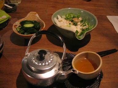 ひねもすcafe 水菜&漬物