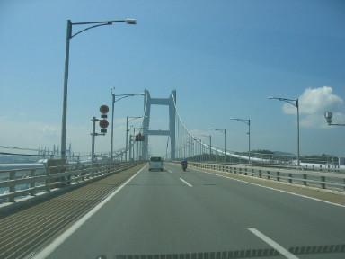 瀬戸大橋 横断中
