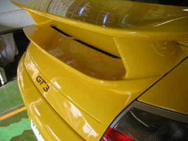 996 GT3 後期ウィング 2