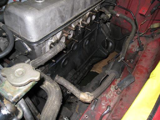 SR311 エンジン