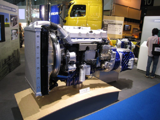 ボルボトラック エンジン