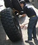 タイヤ空気充填