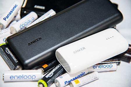 バッテリーと充電池