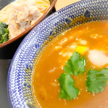 らー麺土俵 鶴嶺峰 つけ麺