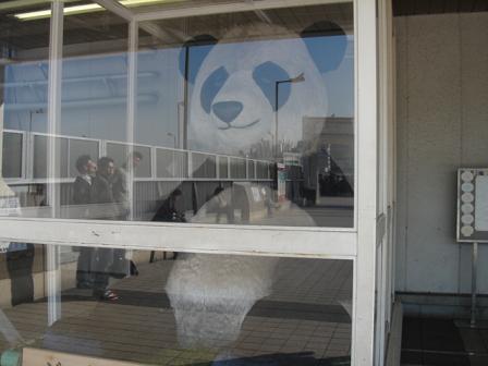 パンダ像1