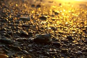 朝陽砂浜−2