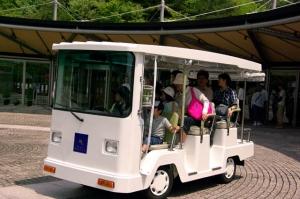 MIHOミュージアム 電気自動車