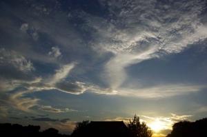 東浦の夕陽−1