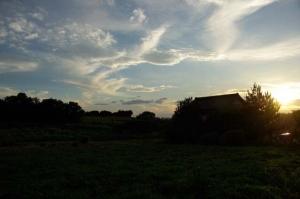 東浦の夕陽ー2