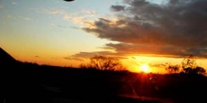 西尾の夕景