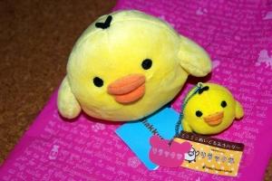 プレゼント黄色い鳥