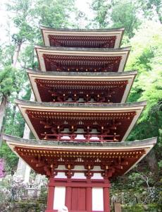 室生寺ー16五重塔