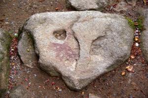 室生寺ー石
