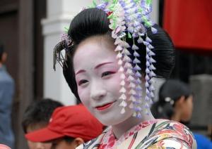 有松しぼり祭り舞妓