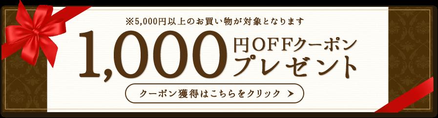 楽天1,000円割引クーポン