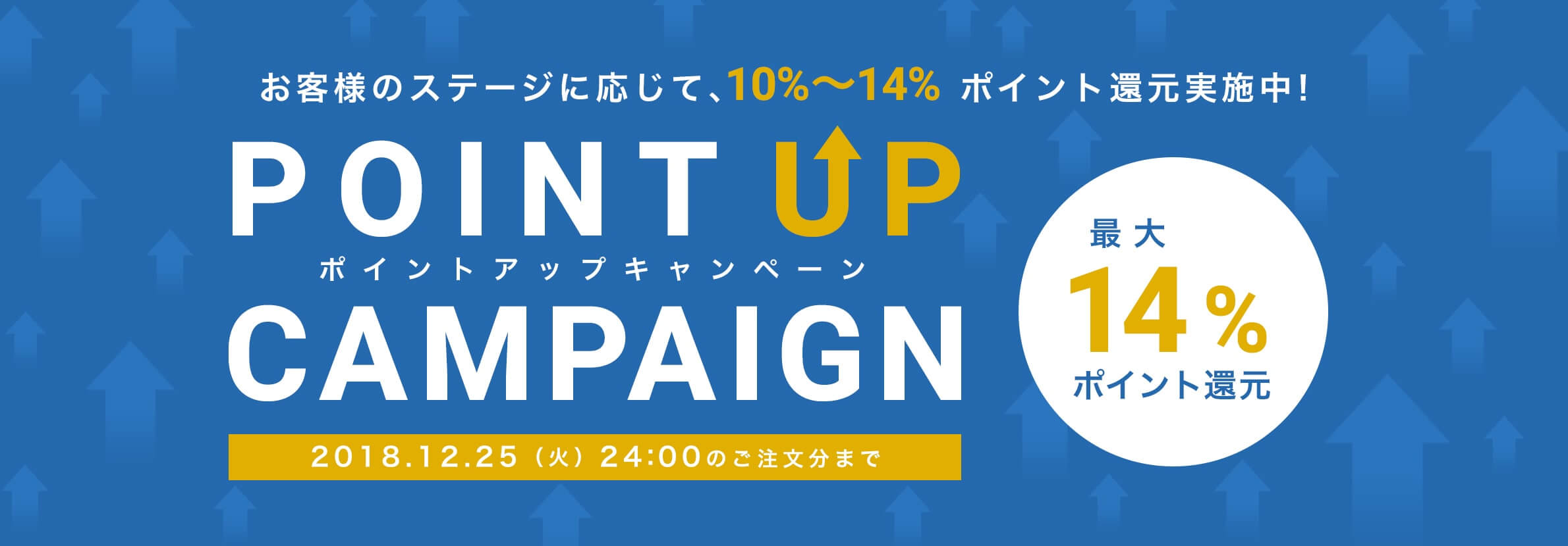 14%ポイントキャンペーン