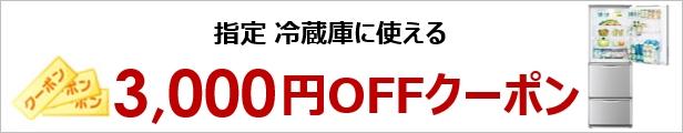 楽天ビック3,000円割引クーポン