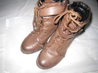 靴メンテナンス依頼