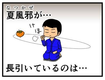 夏風邪 1