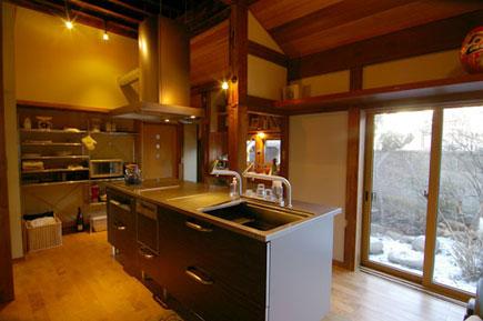 Y邸_キッチン2