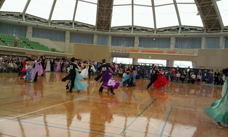 ダンス競技会徳島にて