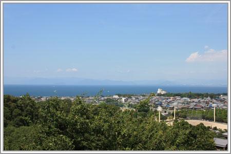 残暑の琵琶湖へ01