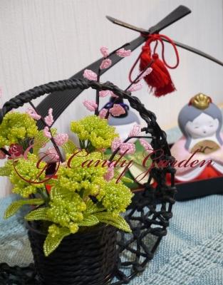 CandyGarden 季節を彩るビーズフラワーアレンジ AngelWan