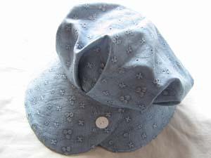 帽子・ブルー