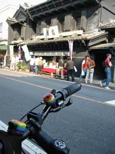 亀屋とバイク