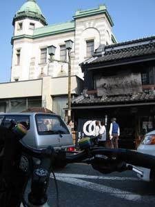「埼玉りそな」「くらづくり本舗」とバイク